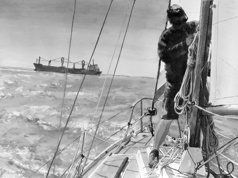 Sailing boat Starshine James Tovey