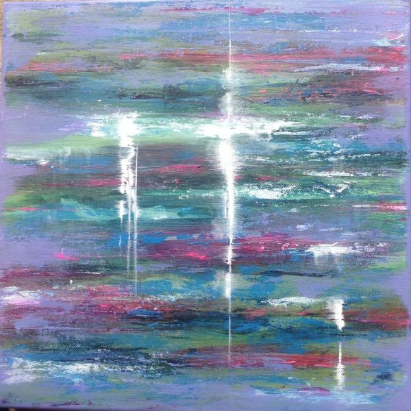 My paintings evolve from an aim to get a contemporary and vibrant painting, I paint in a semi abstract way, trying different paints, mediums and surfaces for diverse effects.