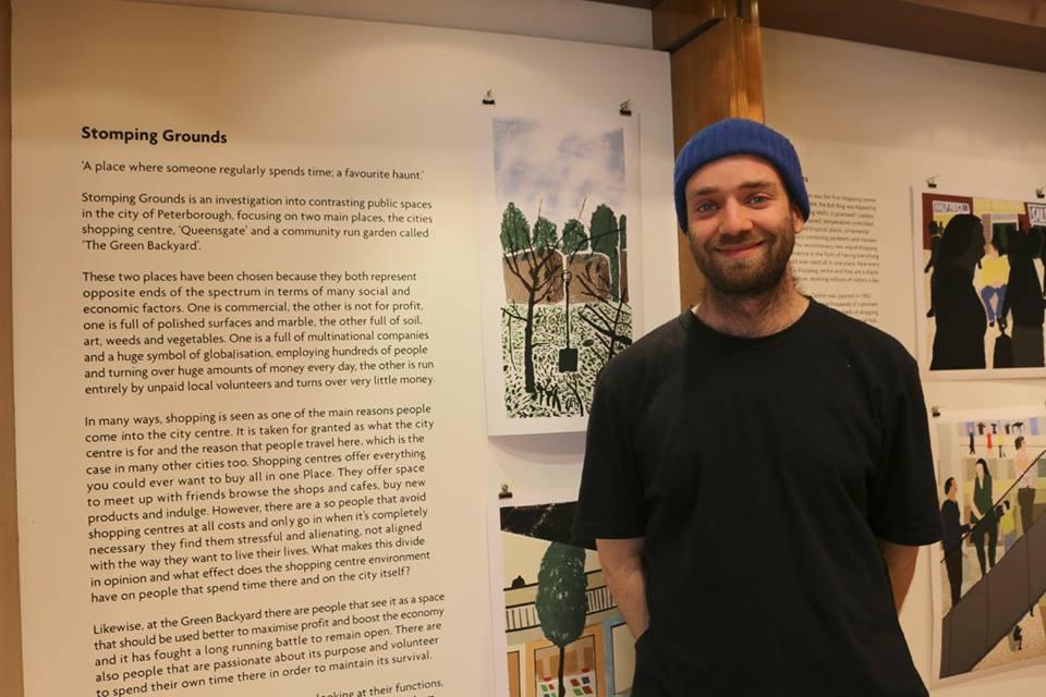 Matt Booker Artist 2017. photo Tony Nero