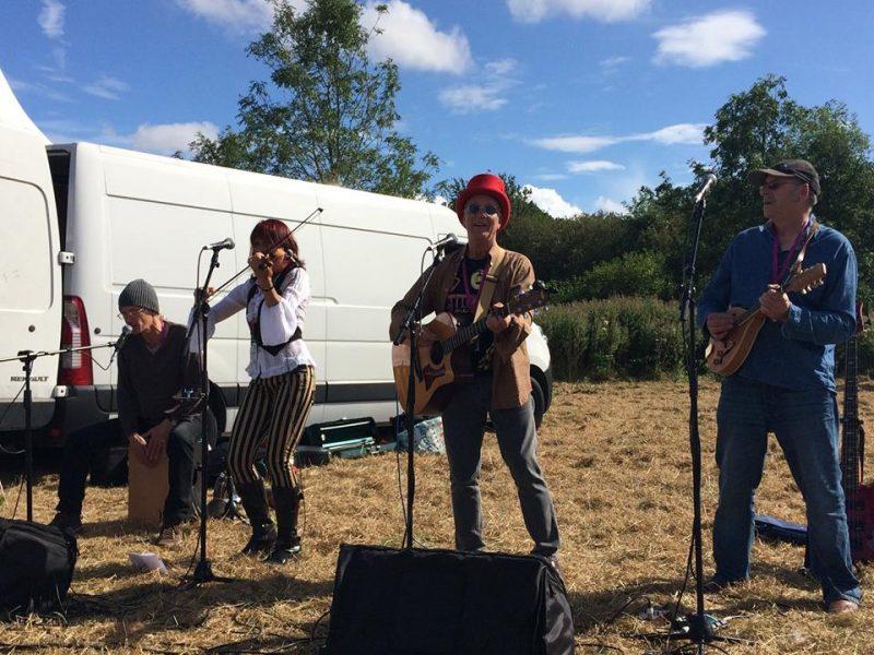 Pennyless folk band 2017