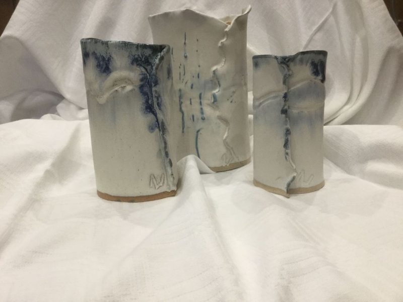 I have been doing pottery for many years and love its versatility and the challenge of achieving the right finish for every pot.