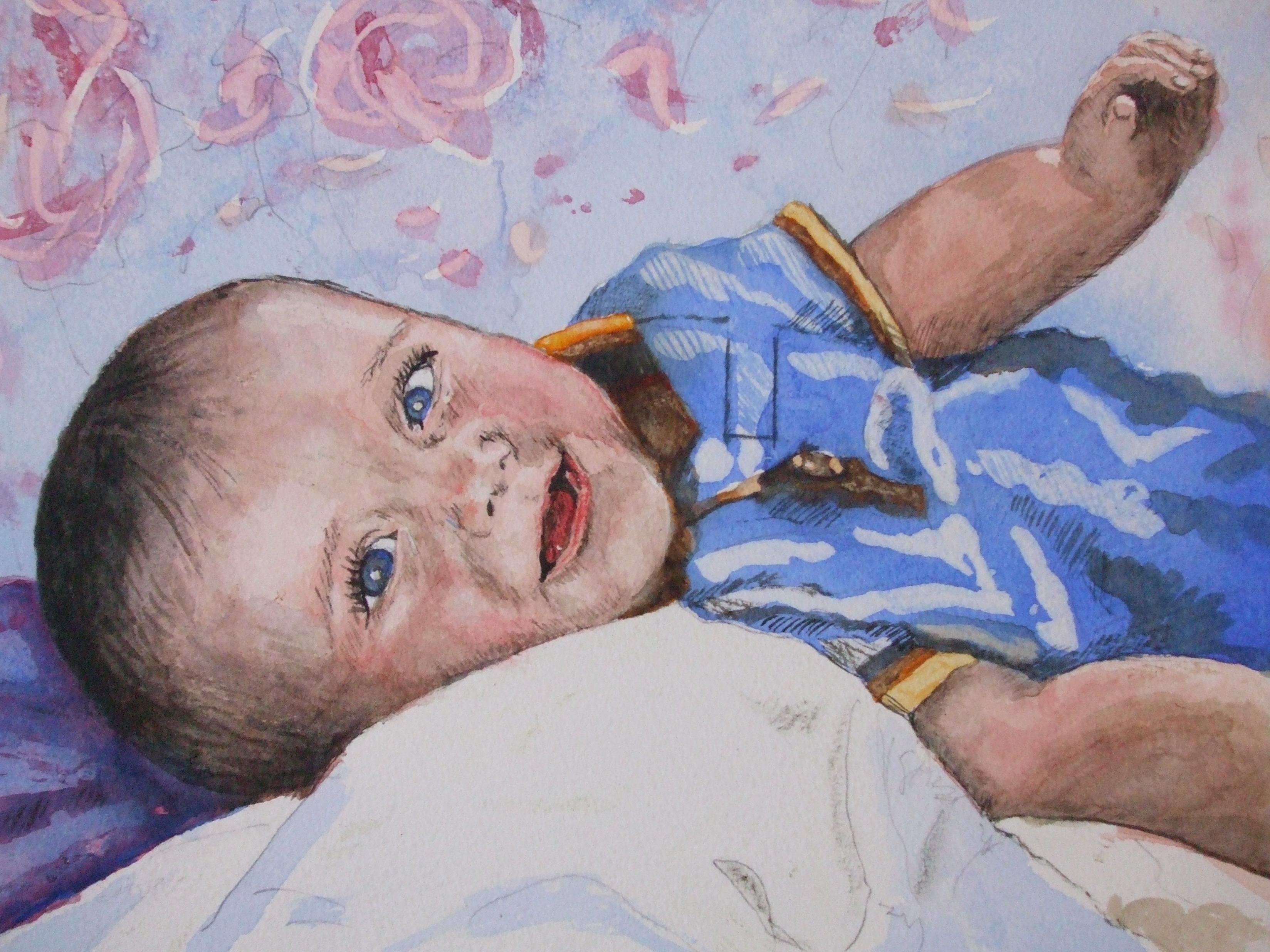 baby-portrait-painting-karenjanegreen.artist