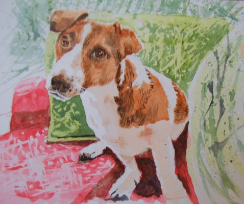 dog-pet-portrait-art-painting-karenjanegreen.artist