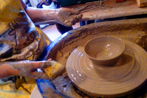 Potterydayz - Richard Gibson - ceramics tuition