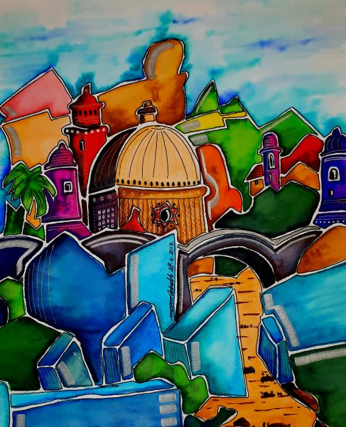 Painting is one of my hobbies. My inspiration comes from nature and travel and my style is colour
