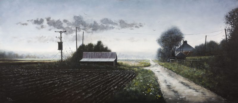 An award-winning oil painter,  focusing solely on the Fenland landscape. Must-see paintings catch the drama of the landscape in fleeting light beneath Fenland skies. Exhibitor of both LAS and WVAS
