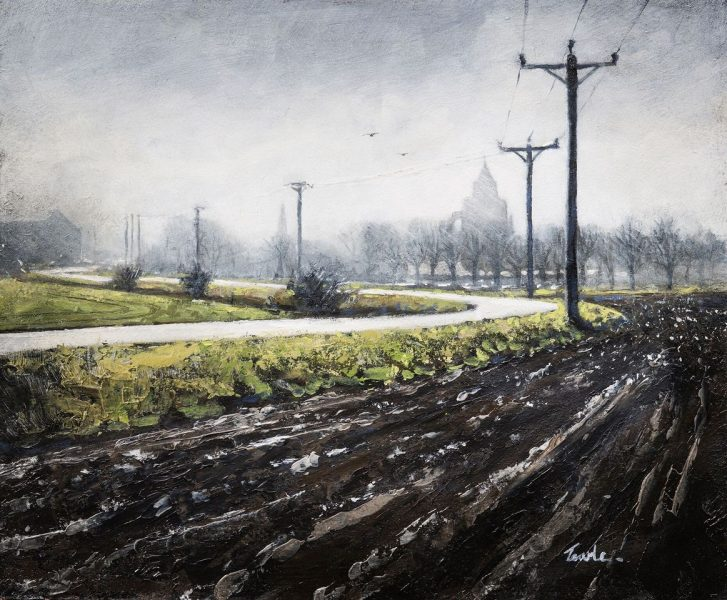 Award-winning artist making paintings of the Fens. Must-see paintings catch the drama of the landscape in fleeting light beneath Fenland skies. Exhibitor of both LAS and WVAS