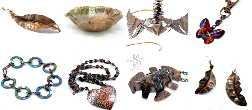 Copper Things by Shalini Austin: Metalsmith