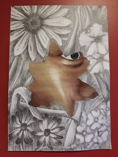A Biomedical Science student at The University of Sheffield, who achieved an A* in A Level Art in 2019 her work is inspired by science, people, and nature.