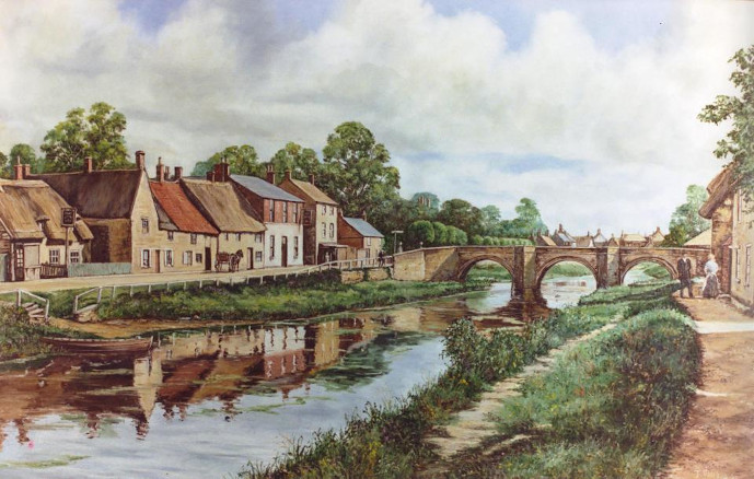 John Mills Artist - Original Oil paintings and prints of the Deepings, surrounding area and also further afield. I welcome you to my studio where I will showcase my work.