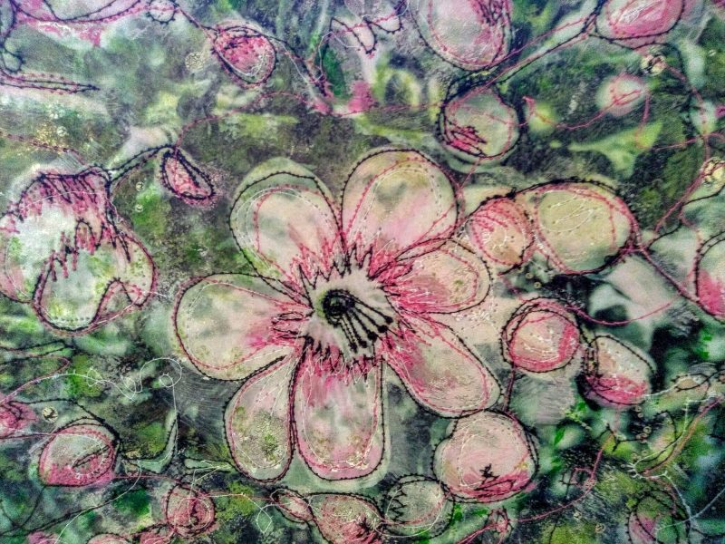 I am a textile artist based in the Cambridgeshire fens. I am influenced by the nature that surrounds me. I make original textile pictures and cards.