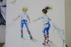 cat.151-Jane-and-friend-skating-commission-SOLD