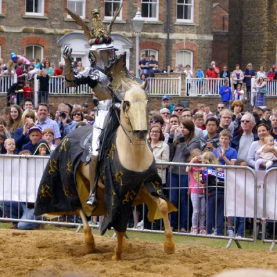 Jousting at the Peterborough Heritage Festival 2015