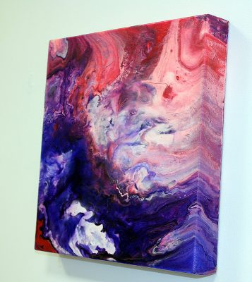 Acrylics, Abstract, Acrylic pouring, Colourful, Handcrafted.