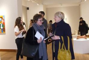 Ann Bellamy and Gillian Evenett visit Peterborough Open 2016