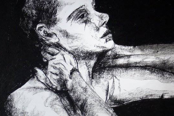 life drawing by artist Paul Watson (March 2015)