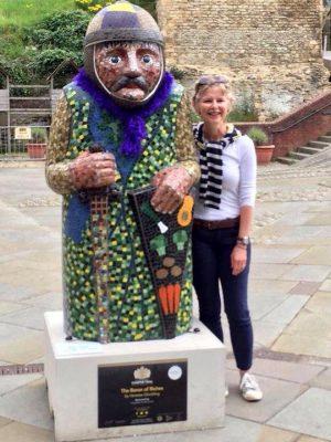 Vanessa Glockling mosaic artist peterborough