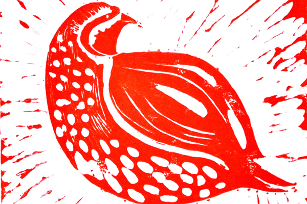 Join print maker Janet Bates for an afternoon of linocutting at Peterborough Museum on Sunday 13th November, 1.30 - 4.30pm. Learn the techniques involved in the art form and create your own print which can then be made into a postcard, Christmas card or left simply as a work of art. It doesn't matter what skill you already have, we welcome both beginners and advanced artists.