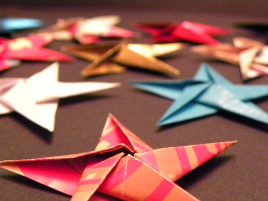 make-origami-stars