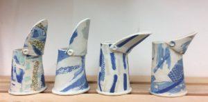 Roz Wright unique jug ceramics 2016