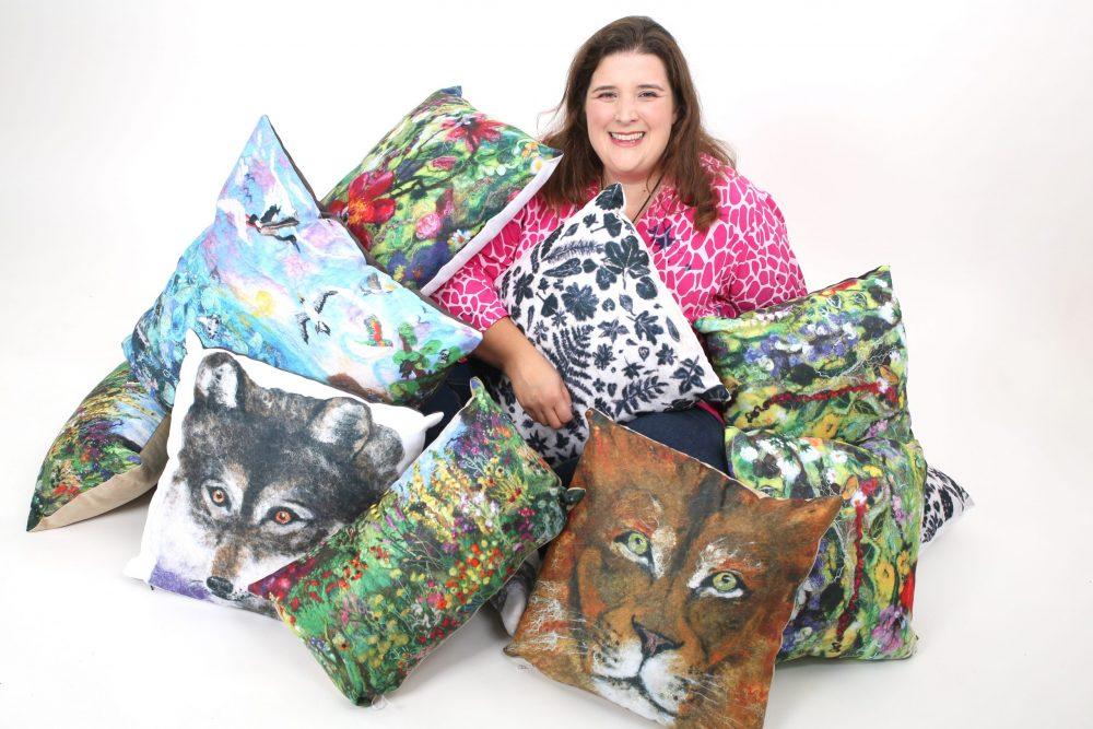 eve marshall art cushions