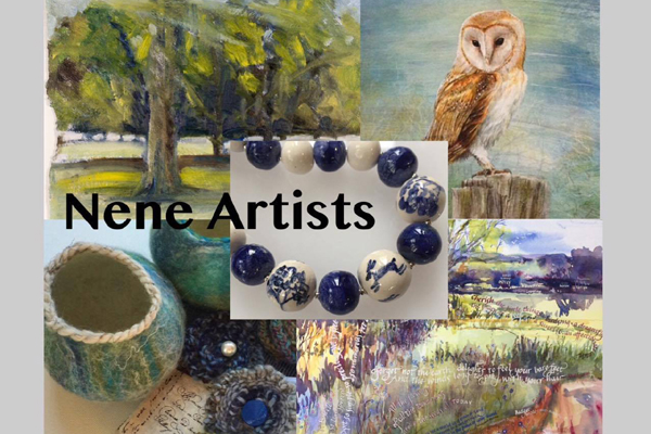 For the last weekend of Peterborough Artists Open Studios 2017, an exhibition by the Nene Artists Group is being held in the Yarrow Gallery, Oundle. This includes Artists Adrian Duffin, Caroline Kisby (#36), Jane Catherine Sanders (#37) and Deborah James (#38). You will see ajourney of colour in representational and abstract paintings with watercolour, acrylics, oils and silk and on ceramics, jewellery and felt work.   The exhibition is open 8 - 15th July 2017  Opening times are : 10am-4pm.  The artists all live in the area of the Nene Valley and the river gives endless inspiration to create unique works.  Deborah James - landscapes and waterscapes in an impressionist style using a medium that reflects the mood and location. Jane Catherine Sanders - fine ceramic bead jewellery and landscape paintings in oil and acrylic that are inspired by our beautiful countryside and ancient symbols. Caroline Kisby - exploring colour, texture and pattern. Using a variety of wools and silk fibres to produce vibrant contemporary sculptural forms as well as functional and decorative textiles. Adrian Duffin - a voyage of fantasy in paint, quirky tales in detailed watercolours, animals in oils, always a surprise! Rosemary Raymond - delicate floral paintings on silk. Roger Hatton - Evocative contemporary abstract paintings in different media.  Wishing all PAOS members well in the last weekend of Peterborough Artist Open Studios 2017 the Nene Group hope to see you at the Yarrow !