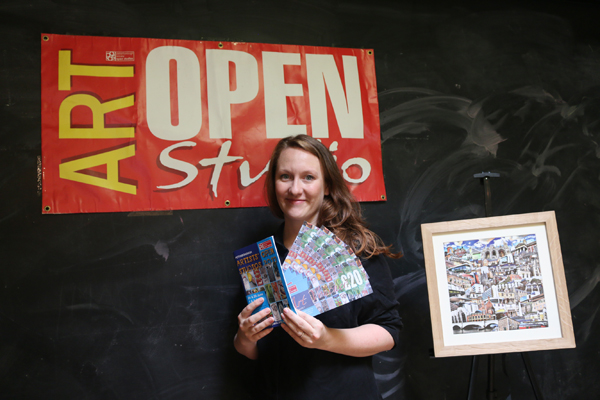 "[caption id=""attachment_3512"" align=""alignnone"" width=""587""] PAOS 2017 visitor, Chloe Walker-Harrison, picks up £100 prize[/caption]