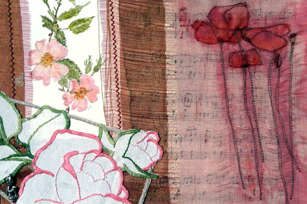 A New Exhibition is announced at:    TheCarre Gallery, Sleaford  http://www.carregallery.co.uk/    Monday 4th-16th June,  10-4.30 (excluding Sunday).    'Two Woods have believed it!' is an exhibition by two friends, Jenny Wood and Dorothy Wood, showcasing an eclectic mix of artwork through mixed media (acrylic, textiles and embroidery) with a common thread being our passion for and inspiration from nature. We promote the role of art and nature in sustaining physical, emotional and mental well-being.