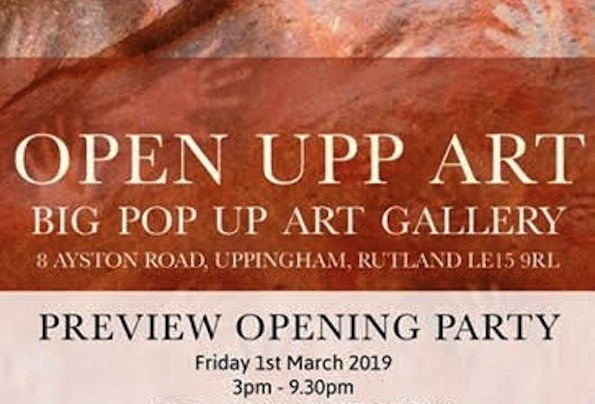 This March, PAOS artists Prue Pye, Kathryn Parsons, Eve Marshall and Charron Pugsley-Hill will be exhibiting with Open Upp Art, in the beautiful market town of Uppingham, Rutland.  For three weeks, Open Upp Art will be bringing life to a vacant shop in Uppingham town centre, with contemporary artworks and design products created by more than 20 selected artists and makers.          All are invited to the opening party on Friday 1st March - please let us know if you are able to come, by contacting Kathryn by Tuesday 26th February - kparsonsart@btinternet.com     Opening Party - Friday 1st March, 3pm - 9:30pm     Exhibition - Saturday 2nd March - Saturday 23rd March 2019     Opening Hours - Monday-Saturday, 11am - 6pm, free entry    Address - 8 Ayston Road, Uppingham, Rutland, LE15 9RL    About :    Prue Pye - seeks to capture the multi faceted layers and colour that exists within us all. It is a search for an essential humanness, and therefore faces are not recorded, but hinted at; a sense of universality and truth.        Kathryn Parsons - Using hand modelled porcelain and found treasures, Kathryn creates intricate miniature sculptures.  Through them she weaves together tales of people, places and the small details of the natural world.          Eve Marshall - Is inspired by the countryside she lives in and her wacky brain. She creates detailed images with wet and needle felting techniques. Eve loves using bold colours a lot of texture which allows you to get lost in her art.         Charron Pugsley-Hill - creates large colourful paintings and installations inspired by nature and flowers. Created intuitively, in the moment each piece aims to bring colour and happiness to tell stories about the world in which we live.