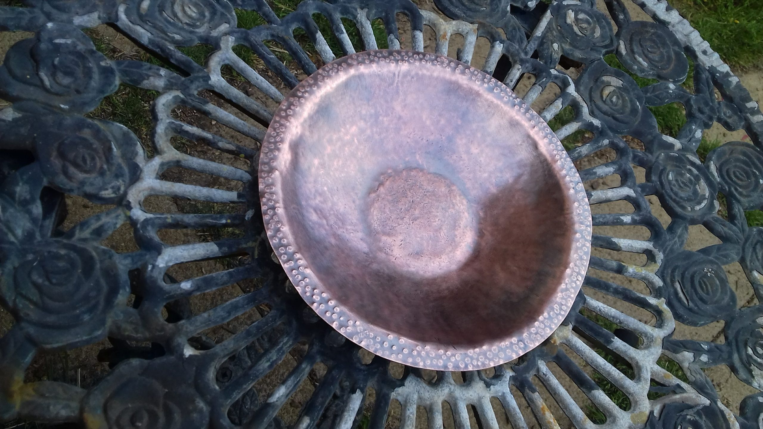Reclaimed Copper Bowl by shalini Austin