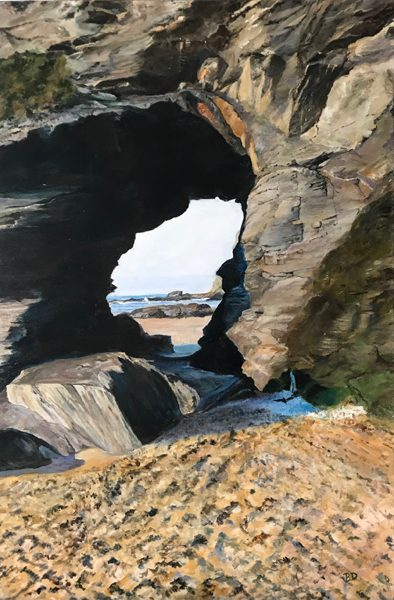 I paint mainly in oils. I do enjoy painting most subjects and try and capture detail and depth, especially in coastal scenes.
