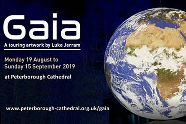 """Peterborough Cathedral holds the Earth:    Residents can see the Earth like never before at Peterborough Cathedral after an art installation was revealed on the 19th August 2019. Peterborough Evening Telegraph's photographer David Lowndes has made these spectaular shots of the opening proceedings.     Photos: David Lowndes – Peterborough Telegraph     The Gaia exhibition opened with a giant globe installed in the catherdal.    The work is by Luke Jerram, the artist behind Museum of the Moon, which was installed at the Cathedral last year.    Visitors to the Cathedral got their first view of Gaia at 10am, but came to life at the grand opening later in the evening.    A special soundtrack plays while the 'Earth' rotates    The seven metre diameter globe has been created using NASA imagery .    More:Snap up prizes with Gaia competition    The artwork will be free to view during the day. There are also numerous evening opening dates when the artwork can be seen to its full advantage, with its internal light glowing as dusk falls. The specially made surround- sound composition by BAFTA award winning composer Dan Jones will also be played, and on many evenings there will be the opportunity to go 'Up to view the Northern Hemisphere', climbing the steps to the next level of the Cathedral to take in the stunning view.    Luke Jerram said: """"I hope visitors to Gaia get to see the Earth as if from space; an incredibly beautiful and precious place. An ecosystem we urgently need to look after – our only home.     Photos: David Lowndes – Peterborough Telegraph     """"Halfway through the Earth's six mass extinction, we urgently need to wake up, and change our behaviour. We need to quickly make the changes necessary, to prevent run away Climate Change.""""    Dean of Peterborough, the Very Rev Chris Dalliston added: """"I'd like to invite anyone who comes to see it, to spend time reflecting on the beauty of the Earth and the wonderfully rich, but fragile, planet we inhabit.""""    For more inf"""